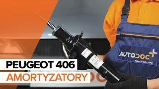 Jak wymienić amortyzatory przednie w PEUGEOT 406 TUTORIAL   AUTODOC