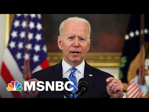 Biden: 'We Brought This Economy Back From The Brink'   MSNBC