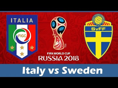 Italy vs Sweden 0:0    13/11/2017   FIFA World Cup 2018 Play-off
