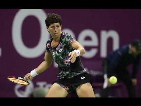 2016 Qatar Total Open Semifinals | Carla Suarez Navarro vs Agnieszka Radwanska | WTA Highlights