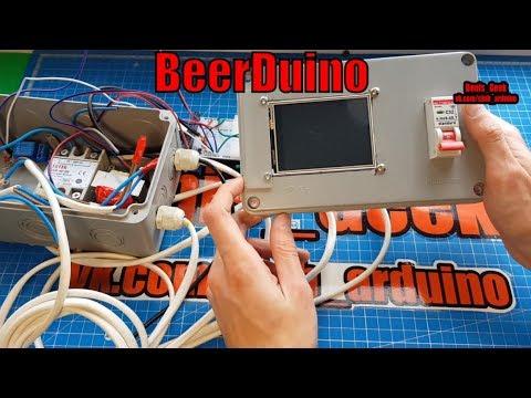 Пивоварня блок автоматики на базе ардуино мега Arduino BEERDUINO