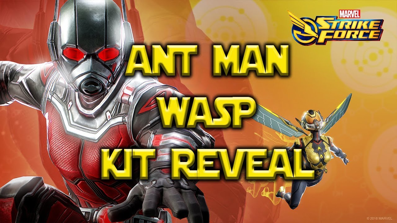 Ant-Man and the Wasp Take Over Marvel Strike Force - Michael