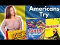 Americans try Swedish Candy & Snacks for first time!
