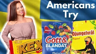 Americans try Swedish Snacks for first time!