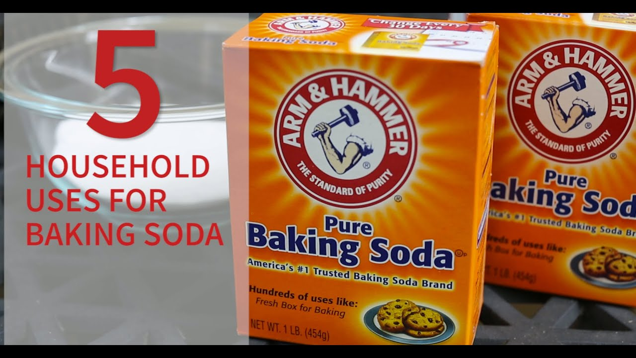 5 Ways To Clean With Baking Soda