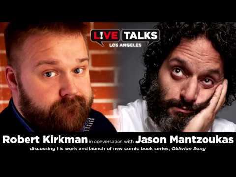 Robert Kirkman in conversation Jason Mantzoukas at Live Talks Los Angeles