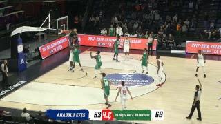 Anadolu Efes - Darüşşafaka Basketbol Hazırlık Maçı