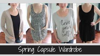Spring Capsule Wardrobe 2015