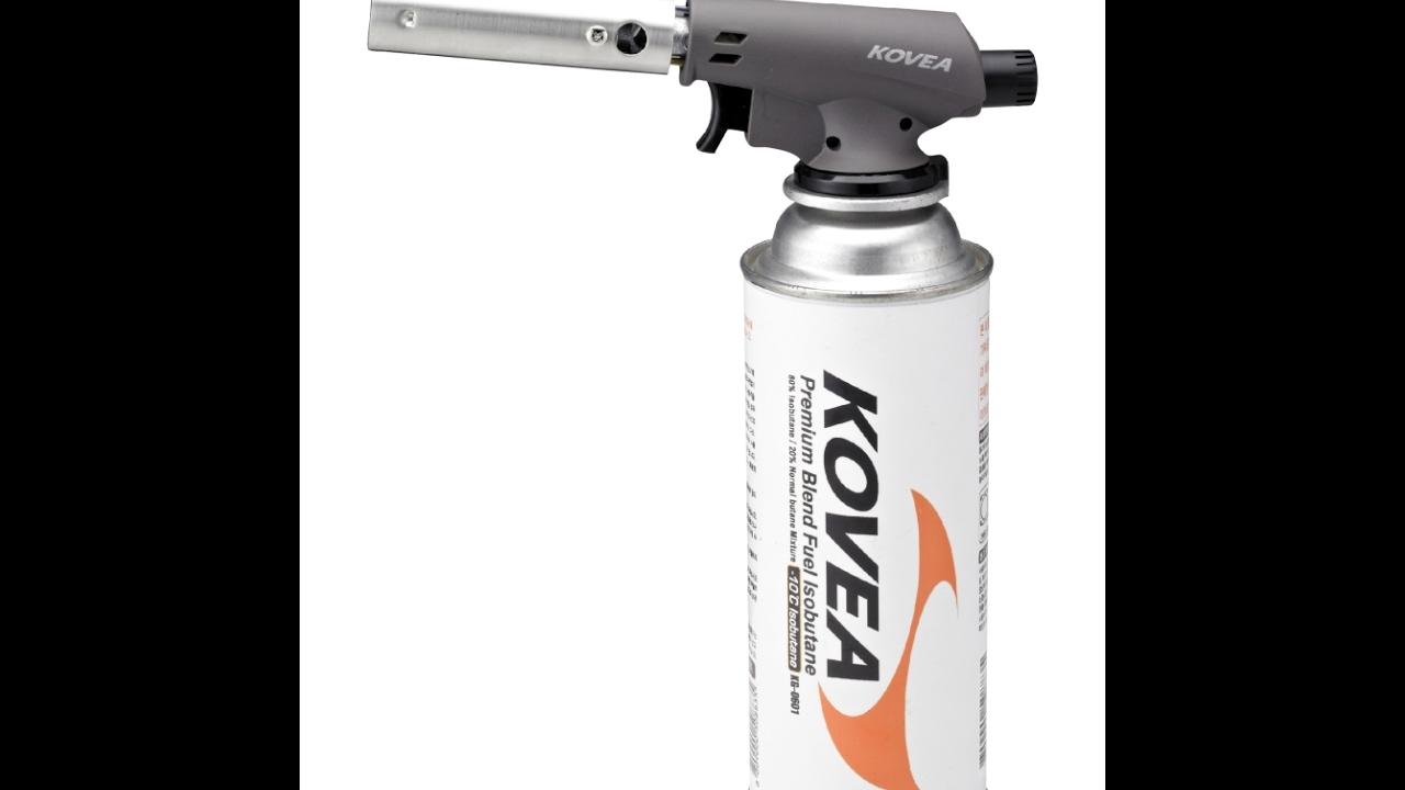 Газовый резак Kovea Fire-Z Torch KGT-1406 - YouTube