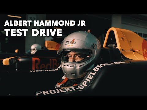Albert Hammond Jr Test Drives a Formula 4 Car