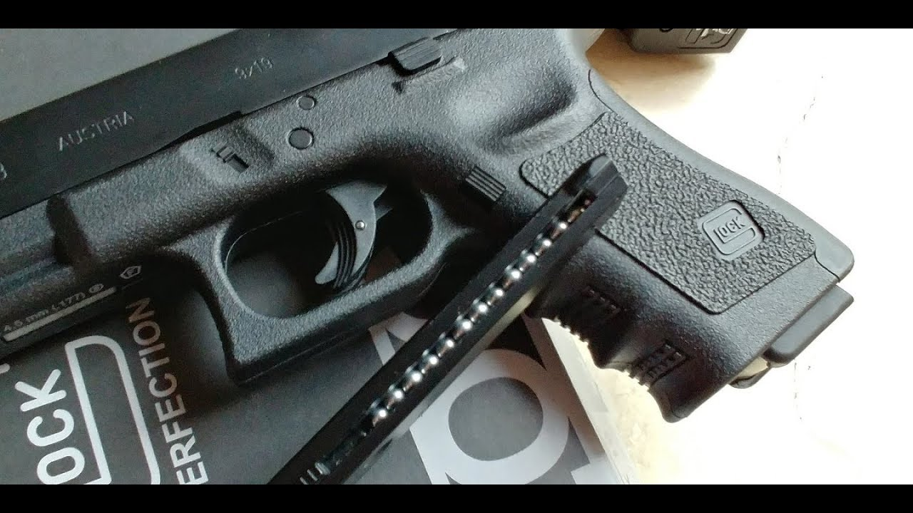 Shooting the Glock 19 steel BB Air Gun by Umarex