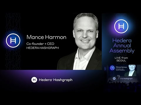 Hedera Annual Assembly | Seoul, South Korea: Mance Harmon, Co-founder & CEO