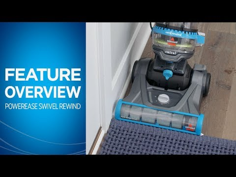 PowerEase® Swivel Rewind Pet Vacuum Cleaner Overview | BISSELL