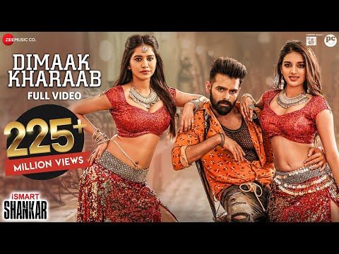 Dimaak Kharaab - Full Video Song   iSmart Shankar   Ram Pothineni, Nidhhi Agerwal & Nabha Natesh