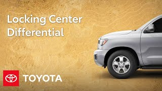 homepage tile video photo for Toyota Trucks and SUV Feature: Center Differential Lock | Toyota