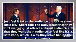 Comedic Duo Steve Martin and Martin short won t attack on stage trump:  we are not here in advance..