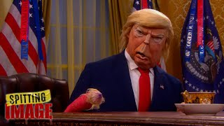 Spitting Image Calls It - Trump Loses