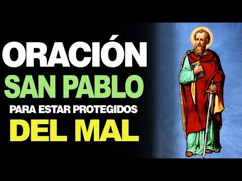 🙏 Oración a San Pablo para estar PROTEGIDO DEL MAL Y LOS DEMONIOS 👹