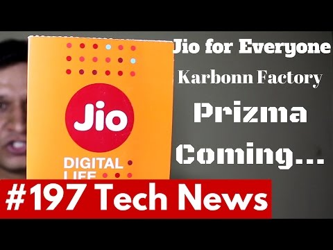 #197 Jio for All VoLTE Phone, Nokia Coming Soon, Pokemon Japan, Prizma India,Redmi Pro