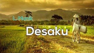 [Midi Karaoke] 🎵 L. Manik - Desaku 🎵 +Lirik Lagu [INSTRUMENTAL]