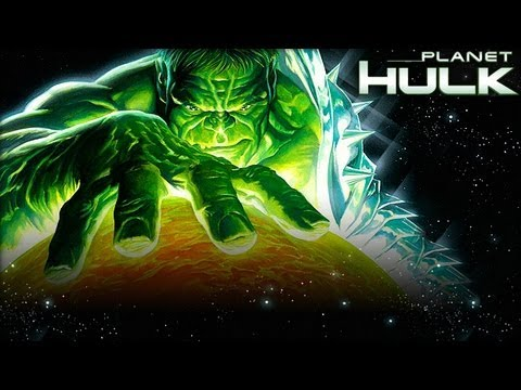 Planet Hulk (2010) Movie Review by JWU