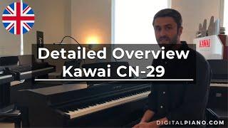 Kawai CN-29 Presentation English | Digitalpiano.com