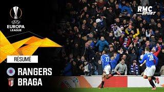 Résumé : Rangers 3-2 Braga - Ligue Europa 16e de finale aller