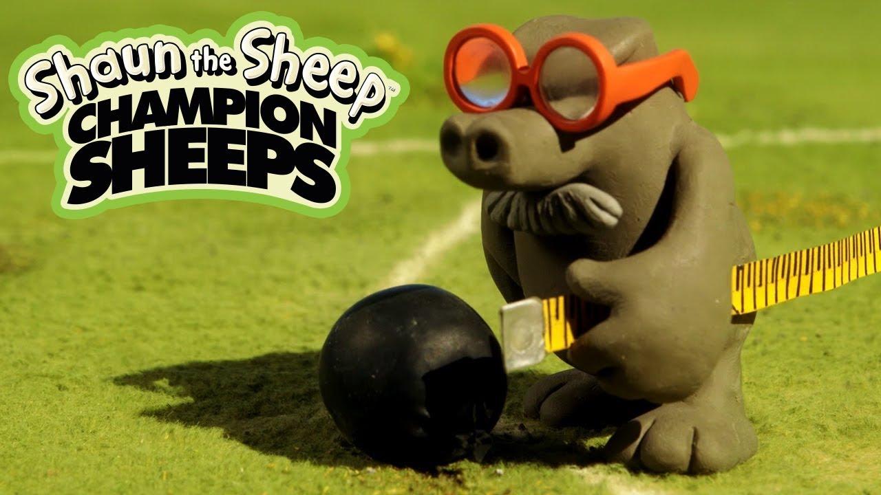 Đẩy tạ | Championsheeps | Những Chú Cừu Thông Minh [Shaun the Sheep]