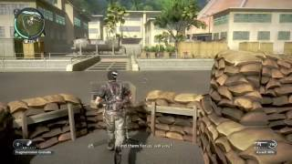 Just Cause 2: Faction Stronghold: Awan Cendawan Power Plant: 100% Complete