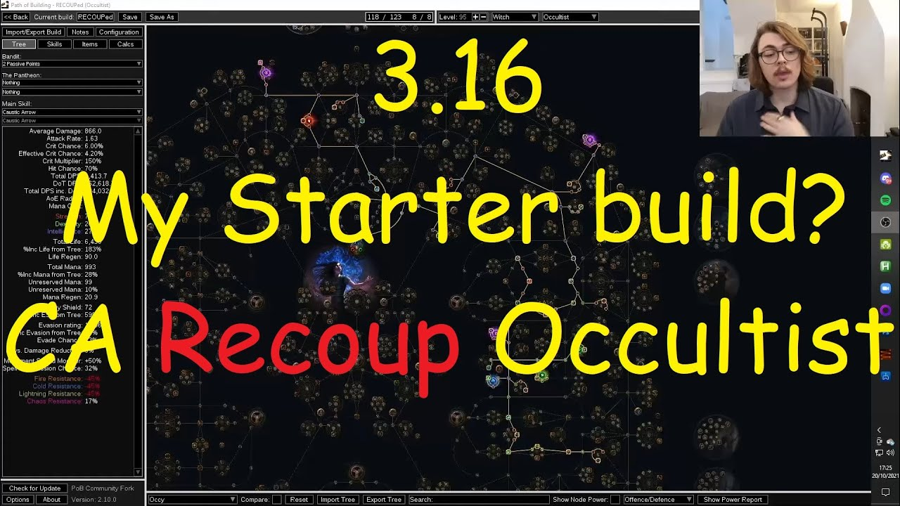 Download 3.16 Scourge Starter Recoup Caustic Arrow Occultist
