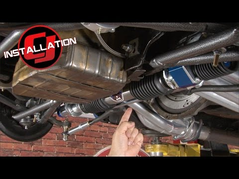 Mustang Total Control Products Rack & Pinion Power Steering Conversion 1967-1970 Installation