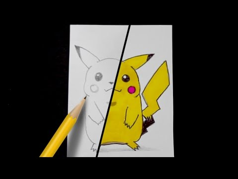 How To Draw Pokemon Step By Step Pikachu Free Art Lesson