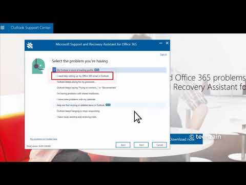 How To Fix Office 365 Problems With Microsoft Support And Recovery Assistant