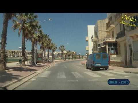 QQLX 0101 MALTA Marsascala - Full HD - Street View Car 2013