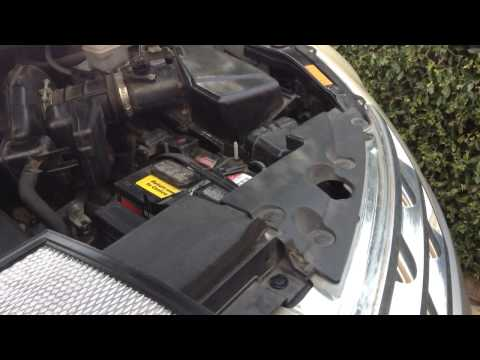 2004 Nissan Murano Air Filter Replacement DIY How To