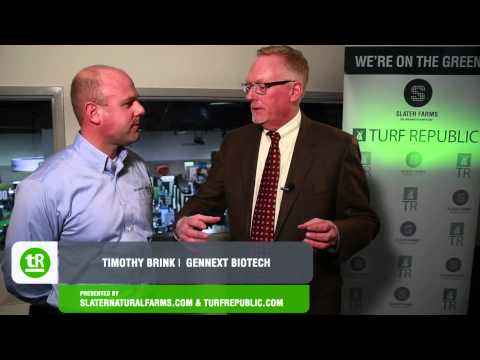 On The Green: New England Regional Turf Grass Show 2014 - Timothy Brink Interview | GenNext Biotech