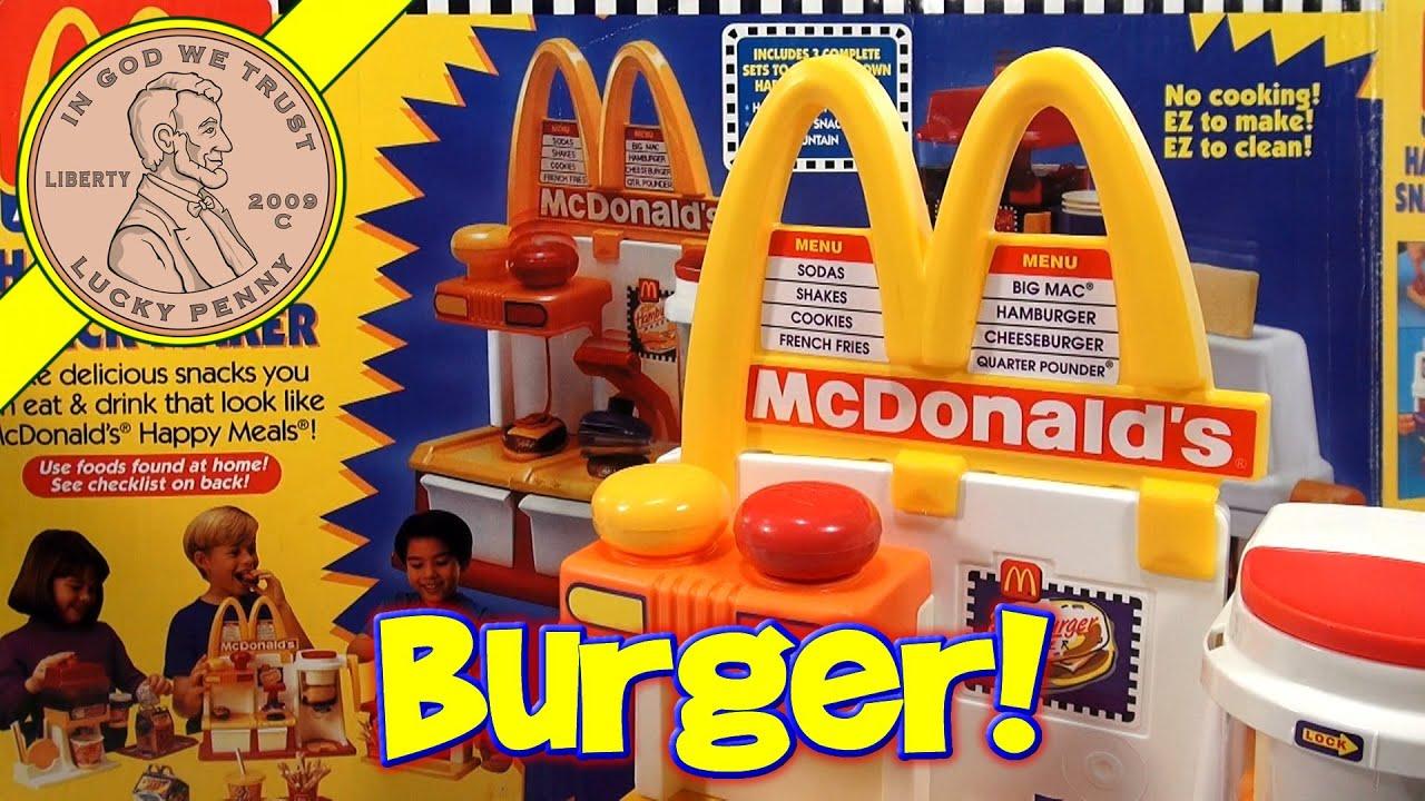 Make Mini Hamburgers! McDonald's Happy Meal Magic ...