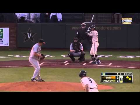 03 30 2013 Tennessee vs Vanderbilt Baseball Highlights1015