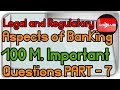 JAIIB Legal and Regulatory Aspects of Banking Important Concepts with Questions Part 7