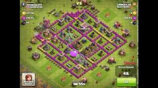 Clash of Clans - TH7 Goblin Attack Style - Farming 750k - OLD FOXES