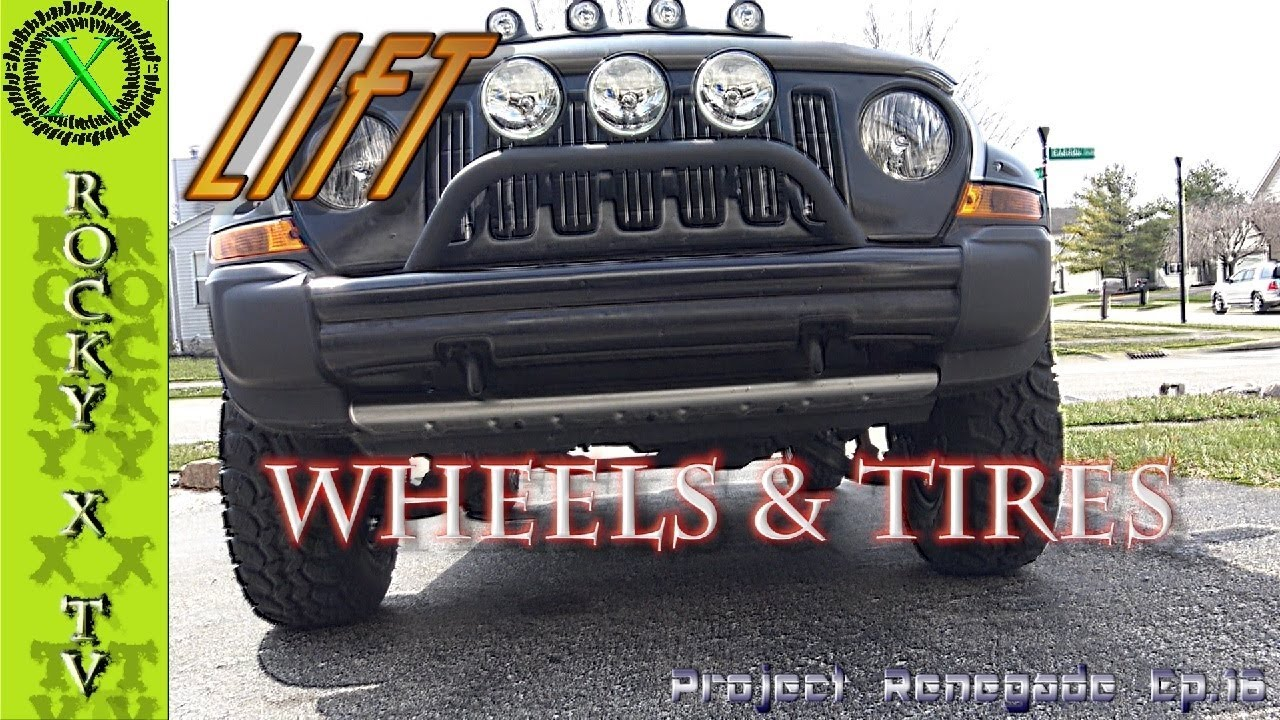 Jeep Liberty Lift, U.S Wheels U0026 Super Swamper Tires, Project Renegade Ep.16