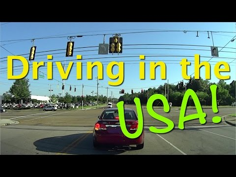 Driving in the USA for the first time - See what's different.
