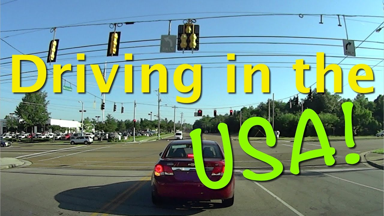 Driving In The USA For The First Time See Whats Different - What time is it at usa