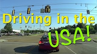 Driving in the USA for the first time - See what