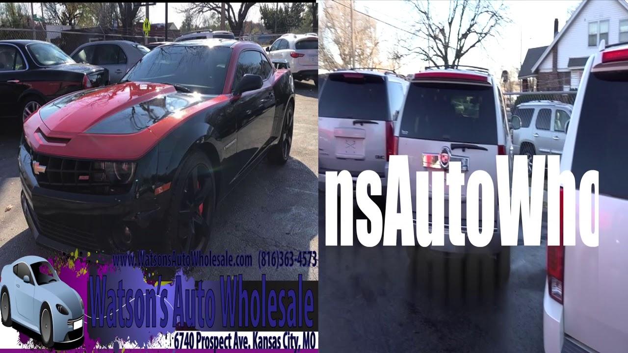 Watson S Auto Wholesale 6740 Prospect Kansas City Mo 816 363 4573