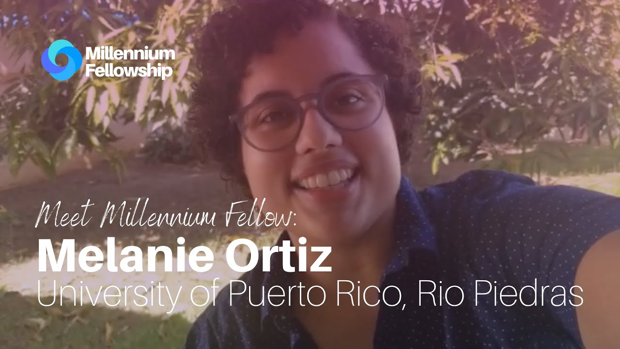 Millennium Fellow Melanie Ortiz supports local boy's orphanage during the Covid-19 pandemic
