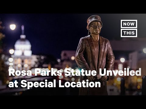 Rosa Parks Statue Unveiled At Special Location | NowThis
