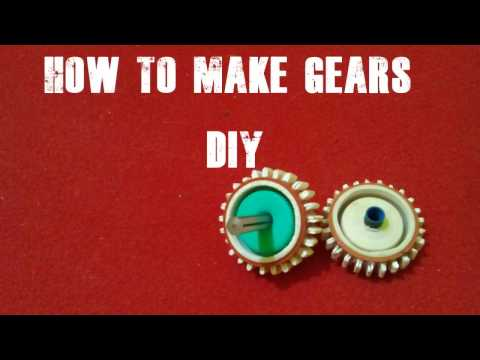 how to make gears for diy projects easily without any machine tools