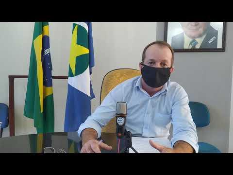 Prefeito Marquinhos Fala Sobre Atual Situação Dos Servidores Da Saúde E Do Novo Decreto Municipal