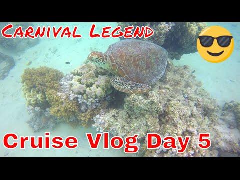 Cruise Vlog Day 5 - Noumea/Tchou Tchou Train/Signal Island Snorkel w Sharks